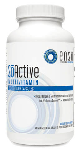SoActive Multivitamin 120 Vegetable Capsules