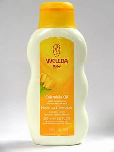 Calendula Baby Oil 6.8 oz