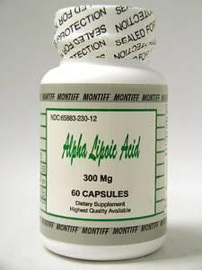 Alpha Lipoic Acid 300 mg 60 caps