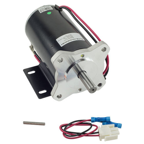 This is an replacement Motor (1/8HP, 12VDC). Compatiable with LiftMaster® Model RSW12U Swing Gate Operators. Check the manual or replacement parts diagram for specific part information before ordering to ensure compatibility.  Genuine LiftMaster® replacement part.