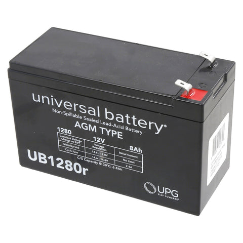 HySecurity MX002008 Battery 8 Amp AGM Type
