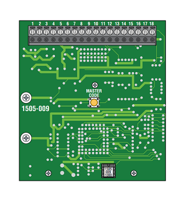 Doorking 1520 Circuit Board