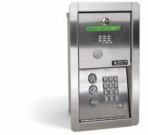 DOORKING 1802-091 EPD FLUSH MOUNT TELEPHONE ENTRY