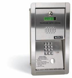 Doorking 1802-089 Flush Mount Telephone Entry System