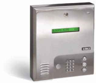 DKS 1835 Wall-Mounted Entry System