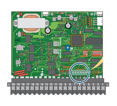 DKS 4404-010 Mother Board