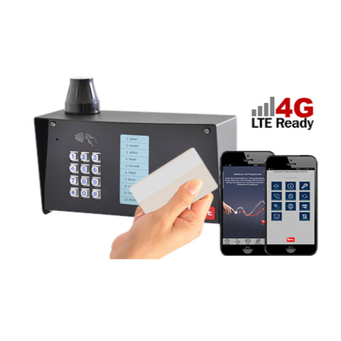 BFT MULTILITEPROX4G APARTMENT CELLULAR TELEPHONE ENTRY WITH CARD READER