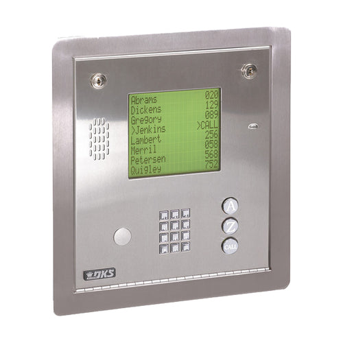 DOORKING 1837-084 FLUSH MOUNT TELEPHONE ENTRY