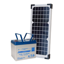 Load image into Gallery viewer, LIFTMASTER 20W33A SOLAR KIT WITH A LARGE BATTERY