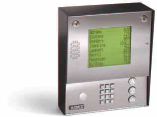 DKS 1837 Telephone Entry System