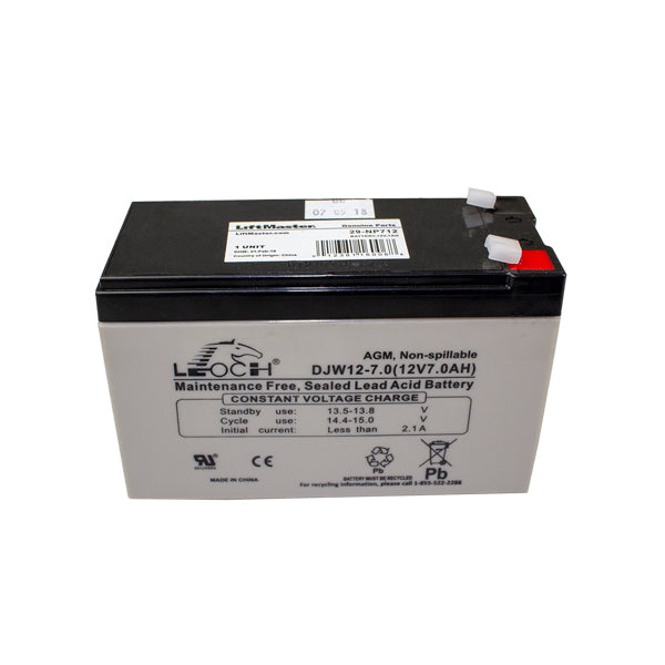 Elite MBAT 29-NP712 BATTERY