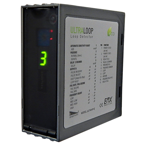 EMX ULTRA-MVP LOOP DETECTOR front view