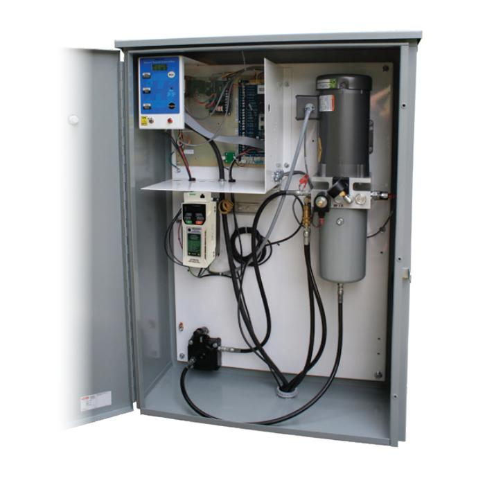 HySecurity HydraSwing 40 control panel