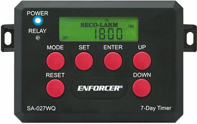 ENFORCER SA-027WQ 7-DAY TIMER