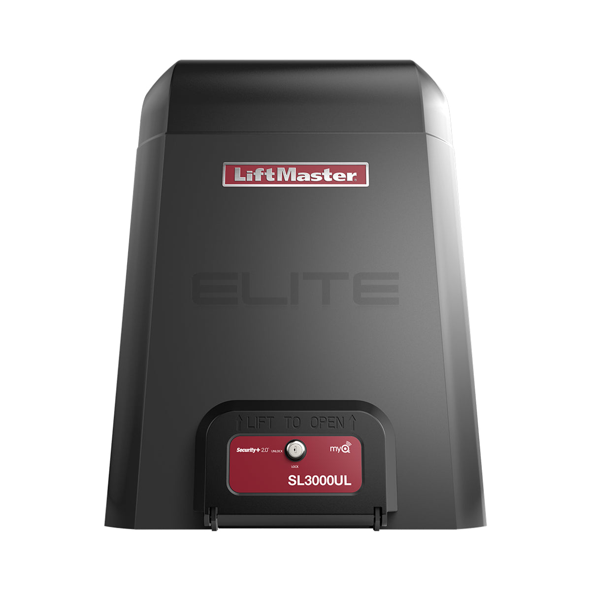 ELITE SL3000101UL 1 HORSEPOWER SLIDE GATE OPERATOR FRONT