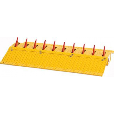 Doorking 1610 Traffic Spikes Surface Mount (Sold In 3ft Sections)