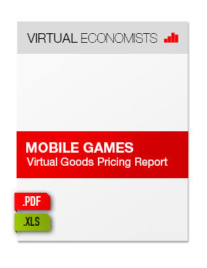Mobile Games: Virtual Goods Pricing Report 2012