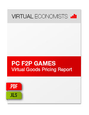 PC F2P Games: Virtual Goods Pricing Report 2013