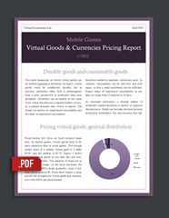 Mobile Games Virtual Goods & Currencies Pricing Report