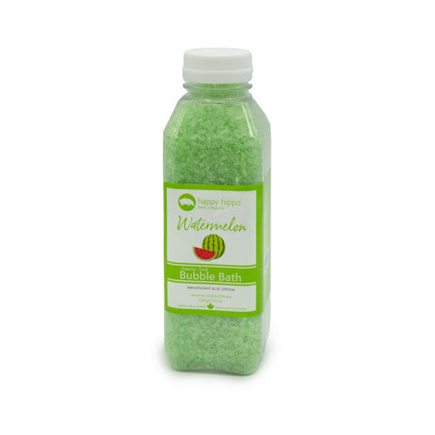 Delightful soothing watermelon scented pure epsom salt bubble bath