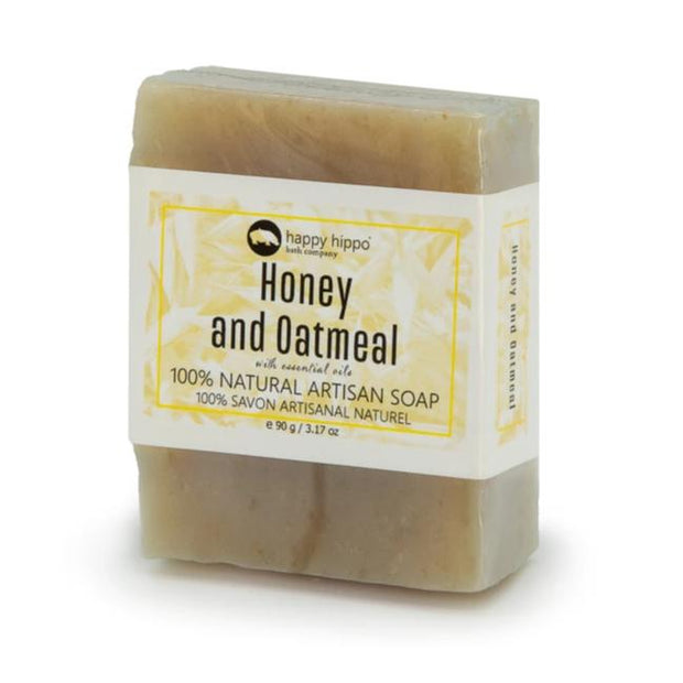Honey Oatmeal Natural Bar Soap