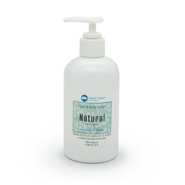 Natural (Unscented) - Daily Hand & Body Lotion