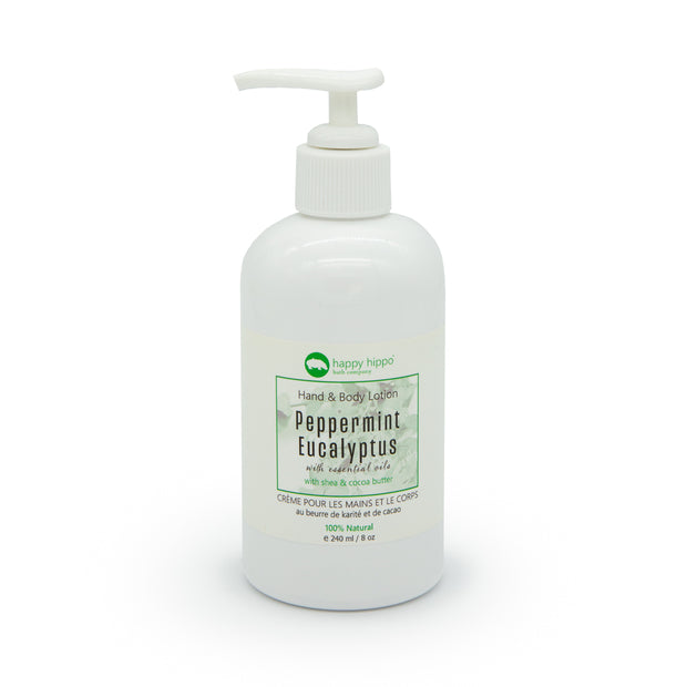 Peppermint Eucalyptus - Daily Hand & Body Lotion