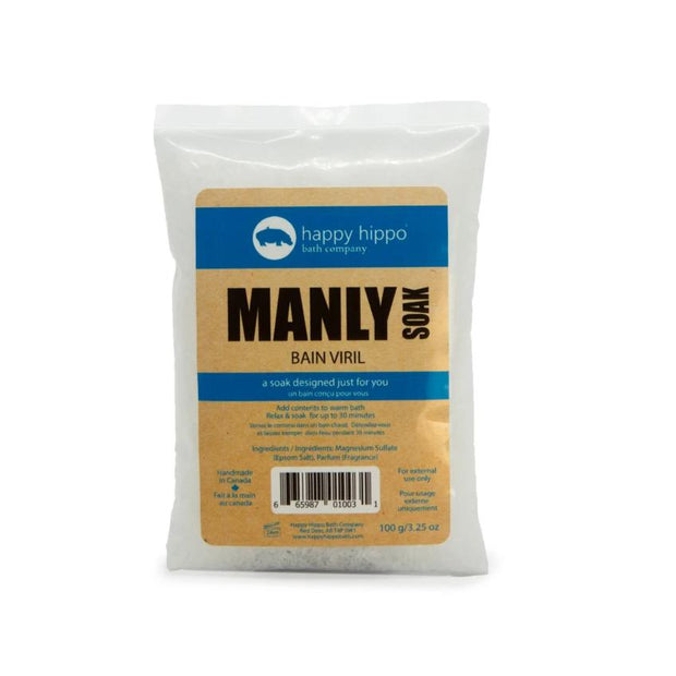 Manly - Pure Epsom Soak -100g