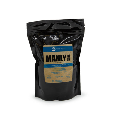 Manly - Pure Epsom Soak -800g