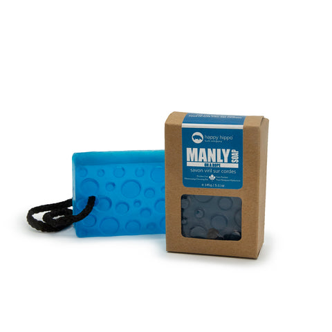 Manly Soap on a Rope