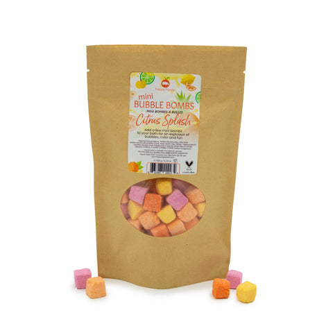 Citrus Splash Mini Bubble Bombs