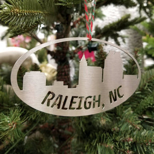 Raleigh Holiday Sale🎄🎁 regional Old Mill Steel Raleigh Ornament ( 5.5 Inches)