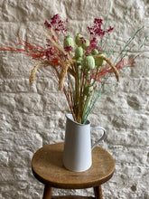 Load image into Gallery viewer, Bright Poppy, Fern and Salix Bouquet