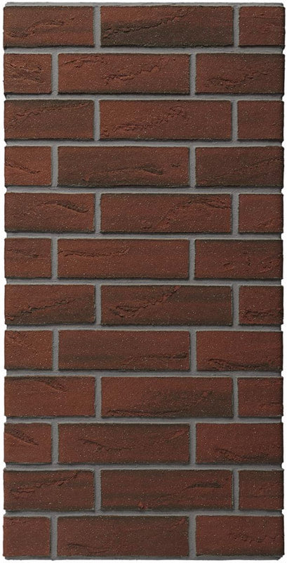 Gainsborough Red Multi Acrylic Brick Slip - 1sqm.