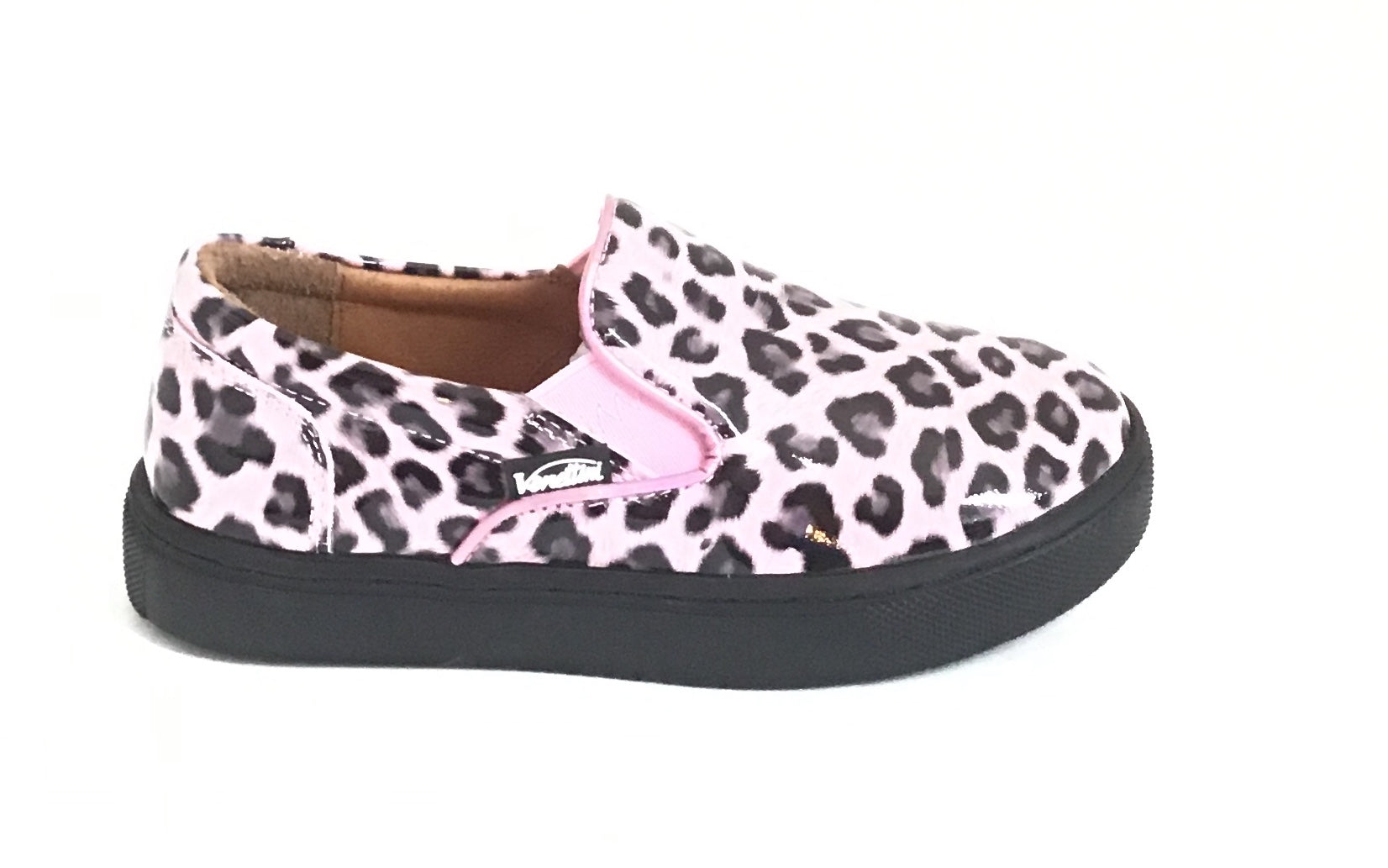 Venettini Pink Leopard Slip On