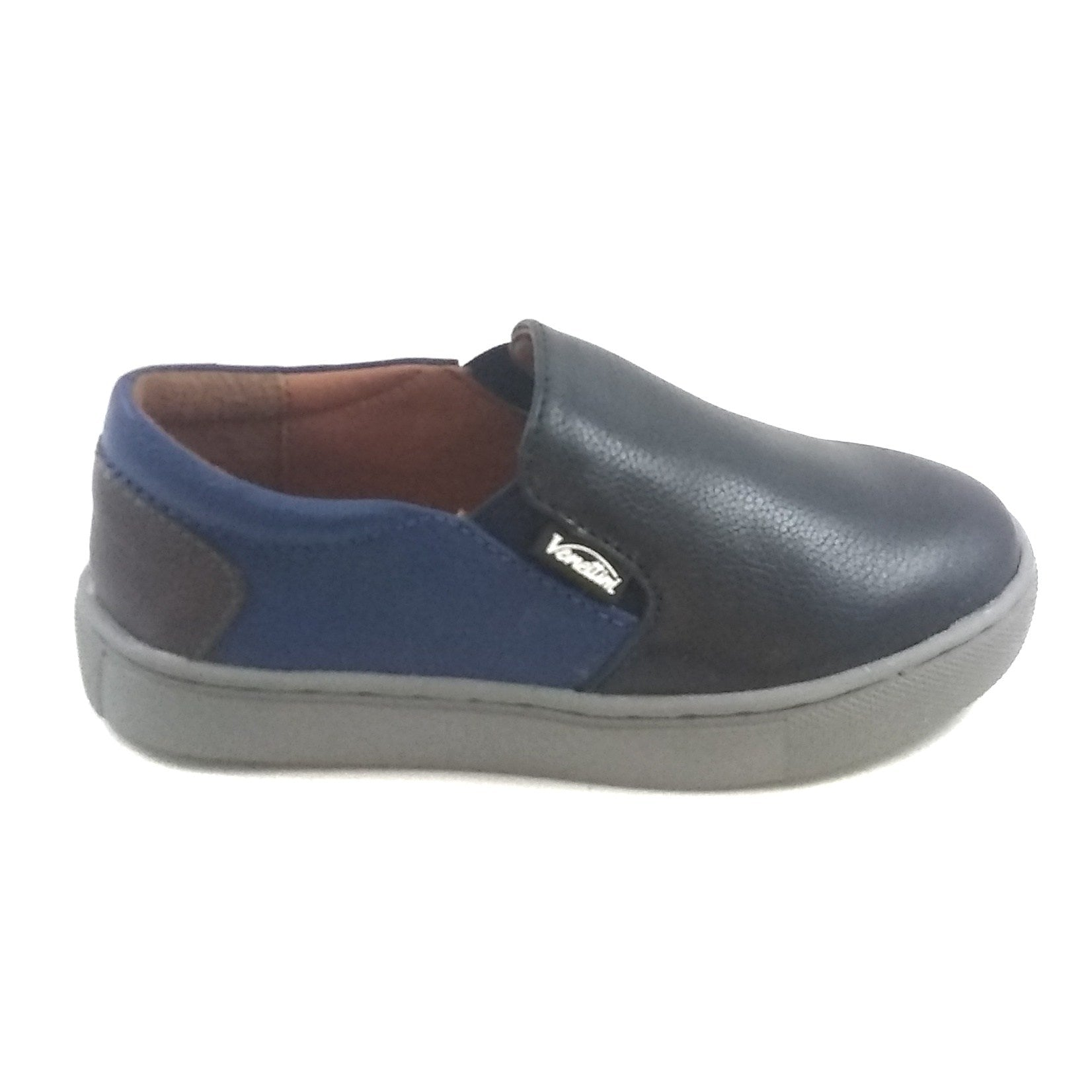 Venettini Navy Slip On with Gray Sole