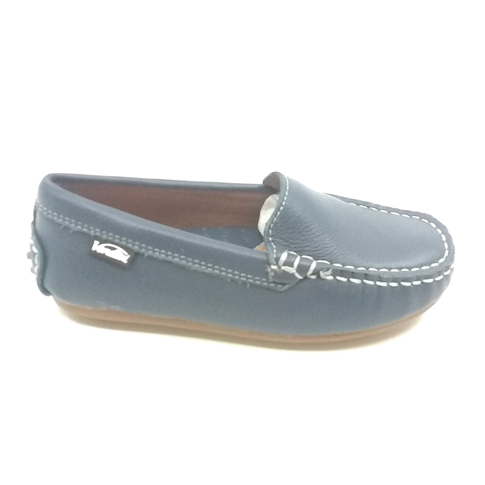Venettini  Gray Moccasin