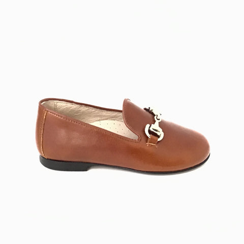 Hoo Brown Chain Slip On