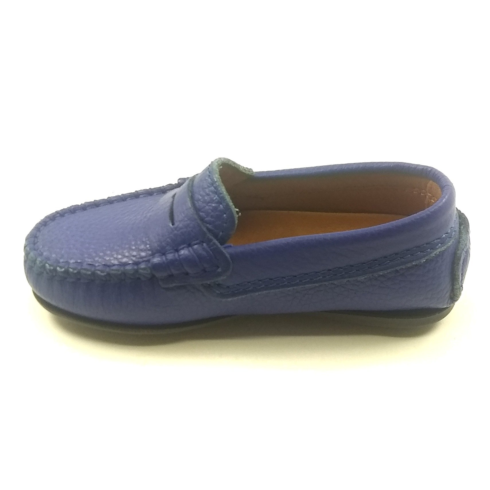 Atlanta Mocassin Blue Loafer
