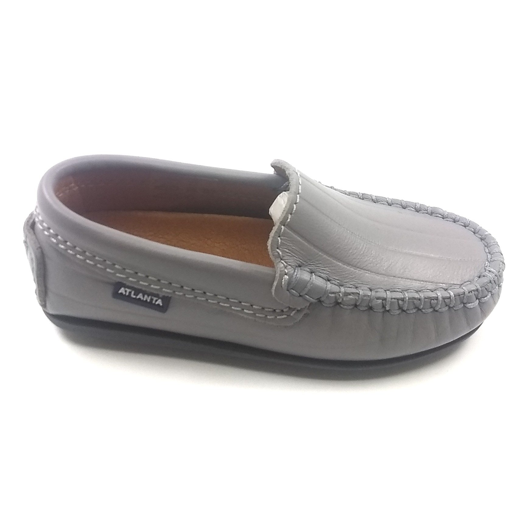 Atlanta Mocassin Gray Loafer