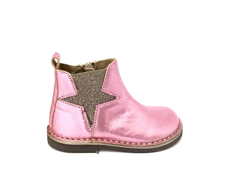 Pink Boots with Star