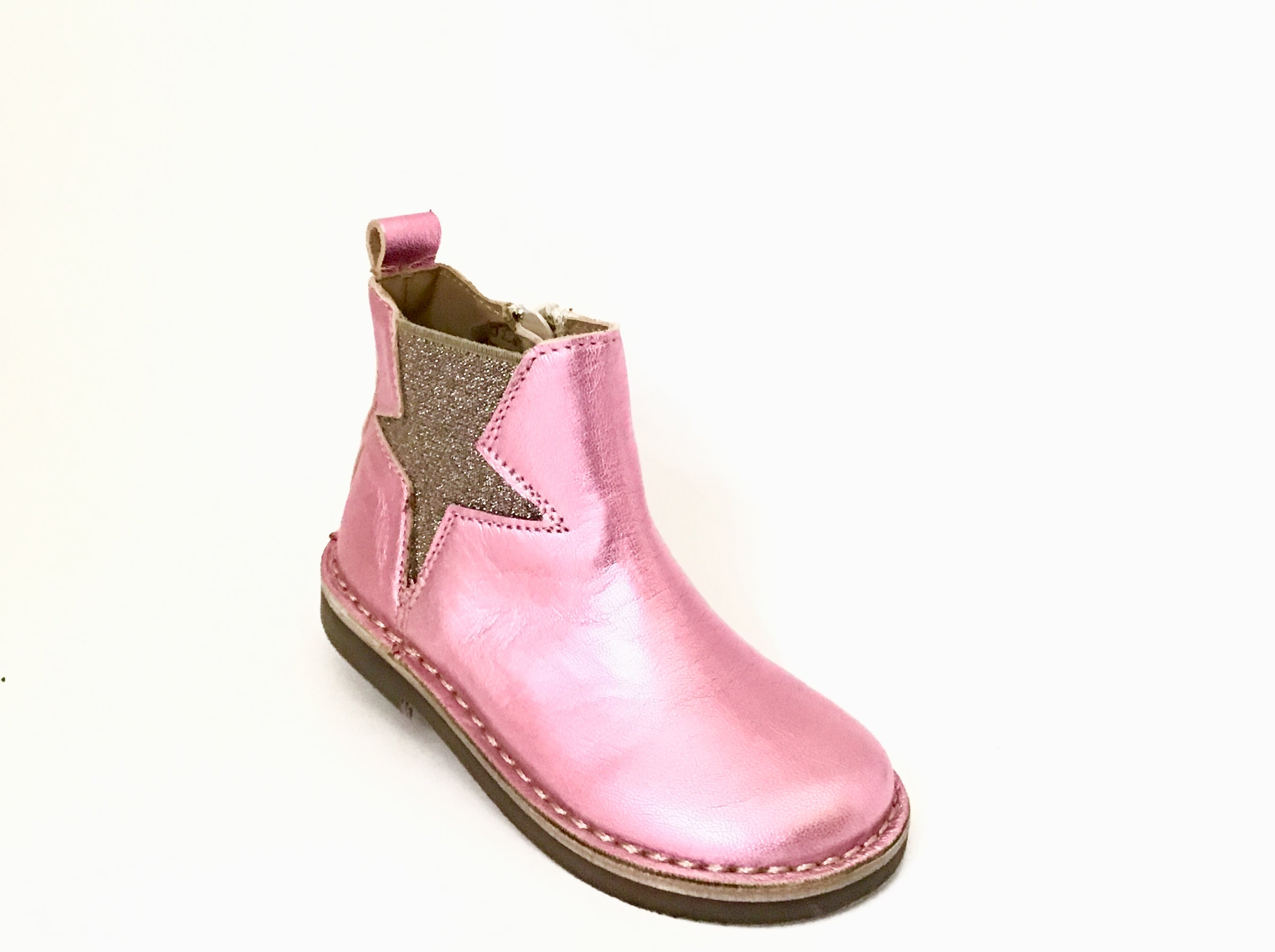 Pink Bootie with Star