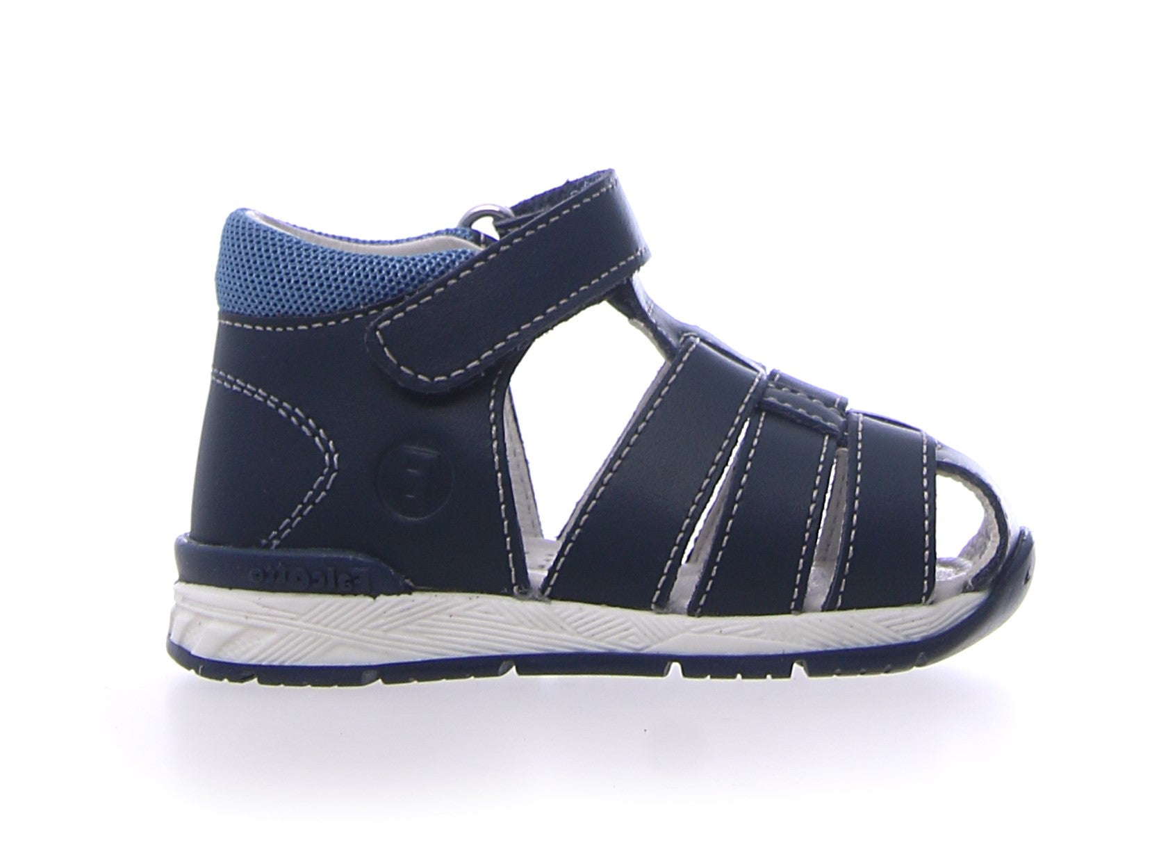 Falcotto Navy Closed Toe Sandal
