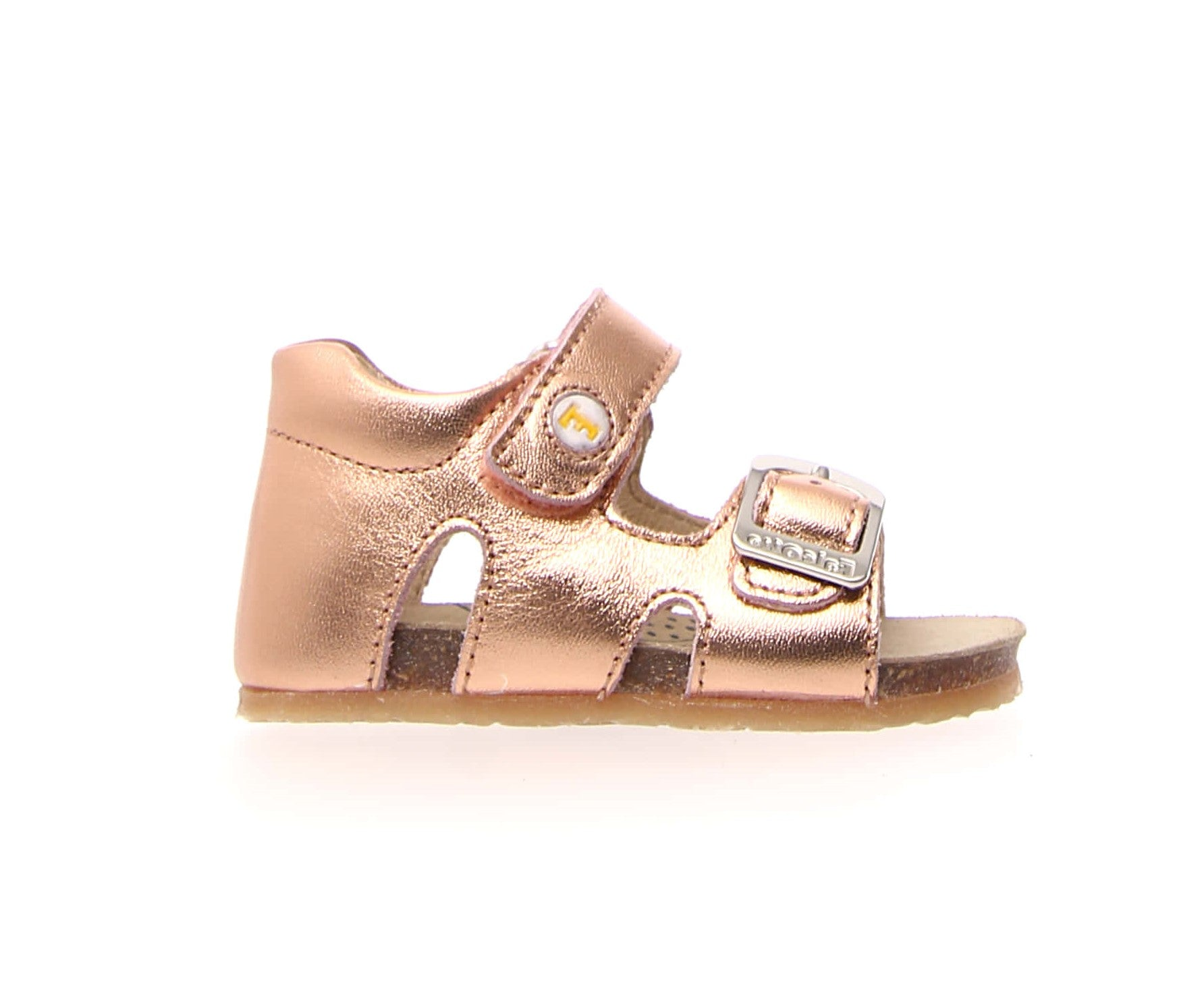 Falcotto Rose Gold Open Toe Sandal