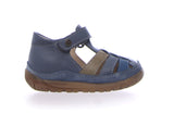 Falcotto Blue Closed Toe Sandal