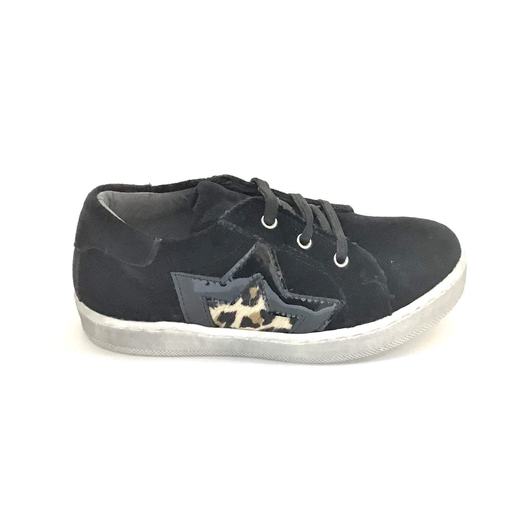 Blublonc Black Big Star Sneaker