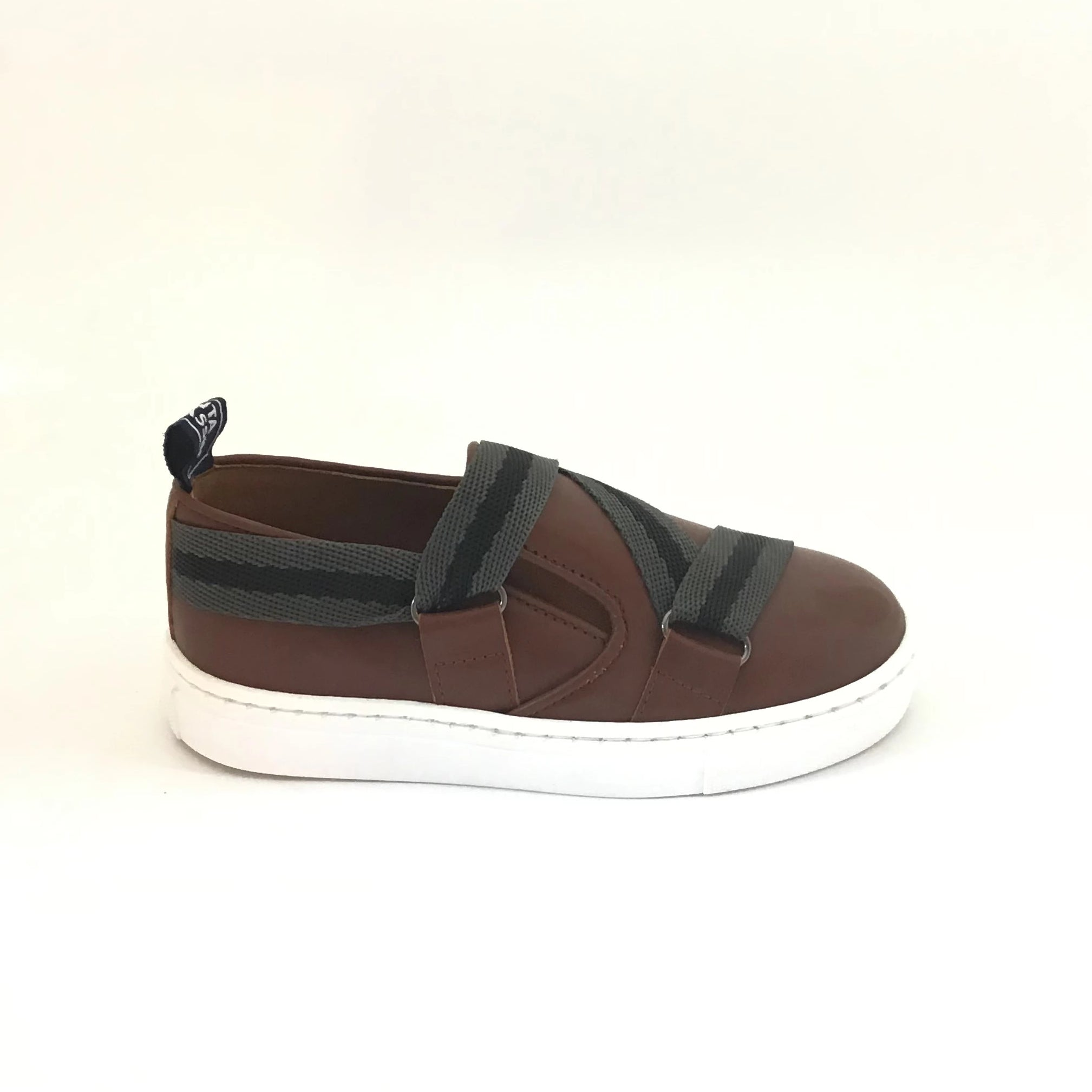 Atlanta Mocassin Brown Ribbon Sneaker
