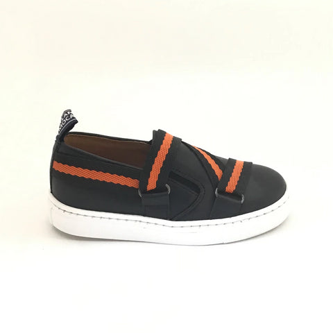 Atlanta Mocassin Black Ribbon Sneaker
