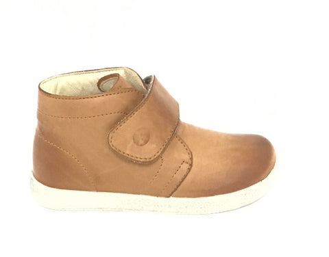 Falcotto Beige Shoe with Velcro