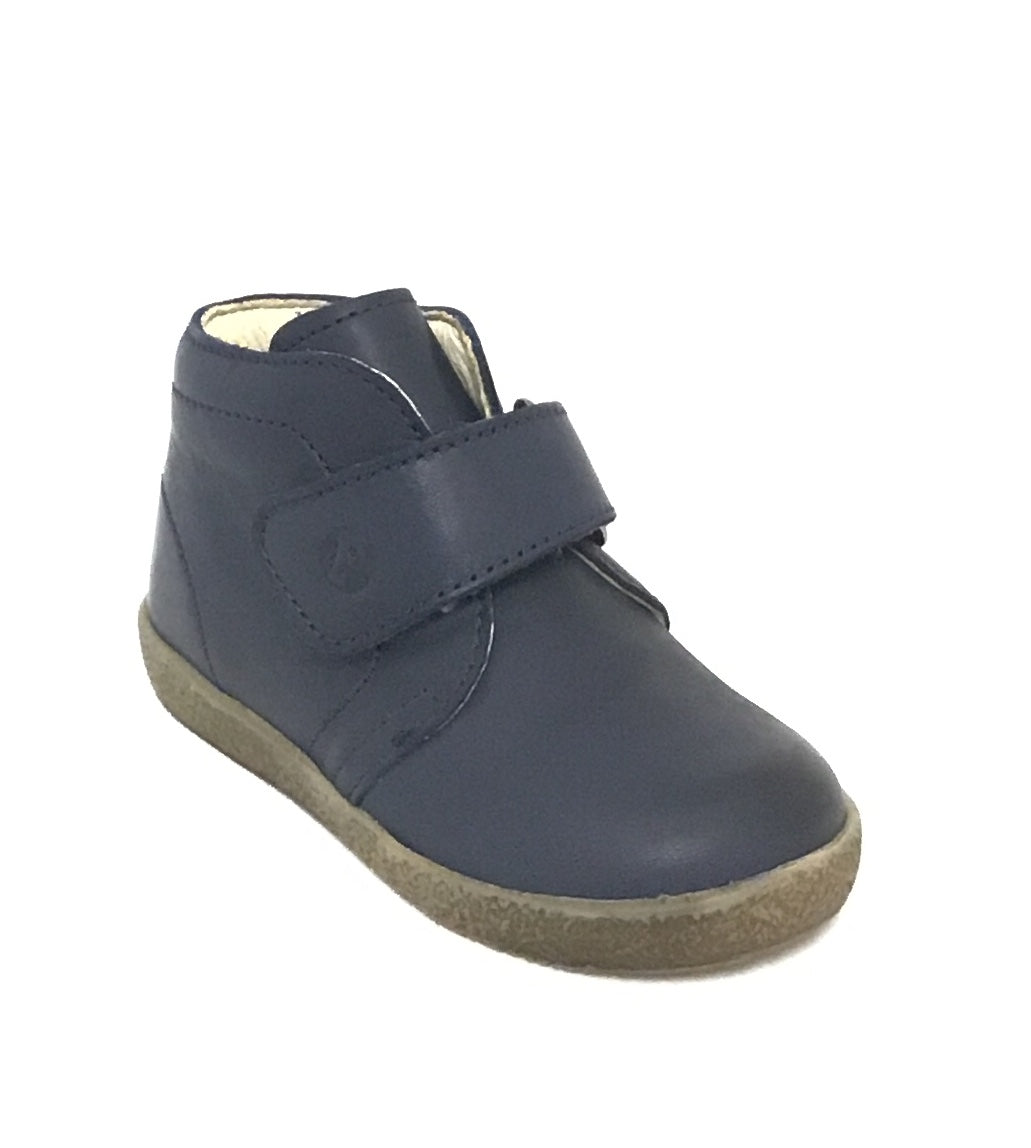 Falcotto Blue Shoe with Velcro